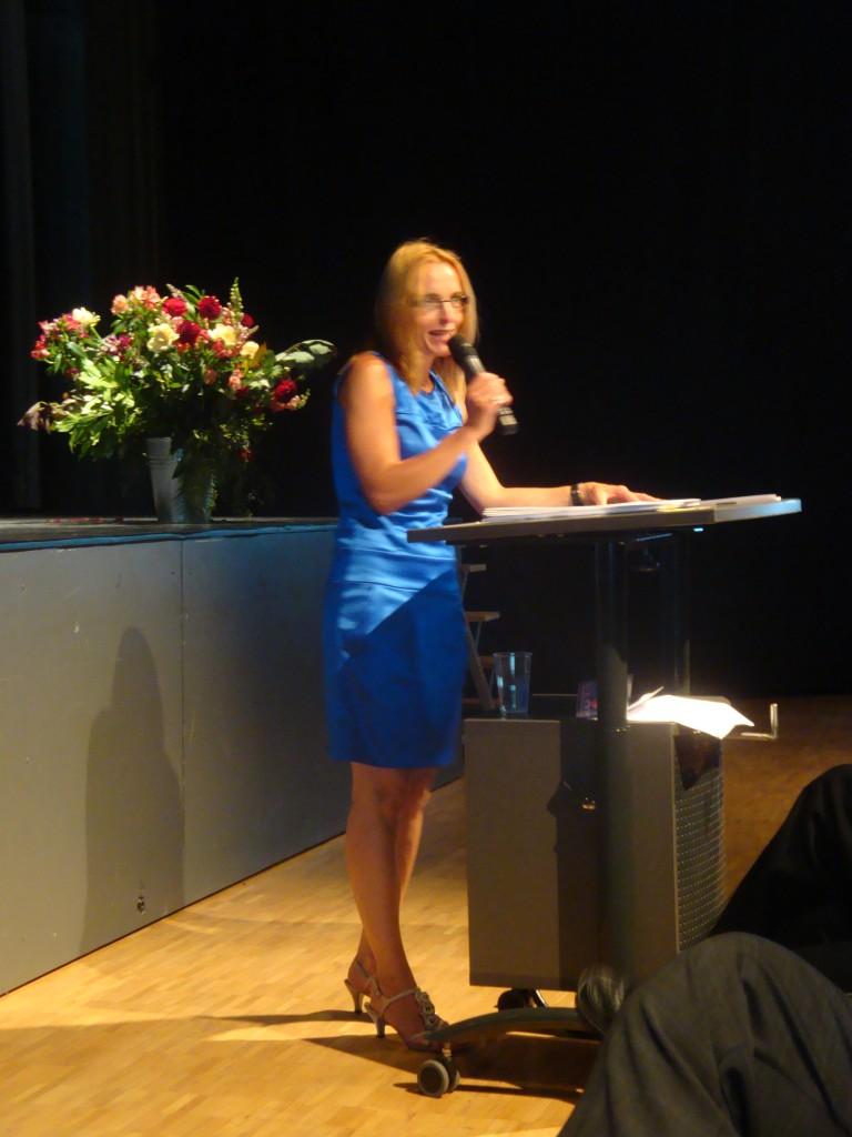 Dr. Gabriele Leuenberger, Stufenleiterin des diesjährigen Abschlussjahrgangs